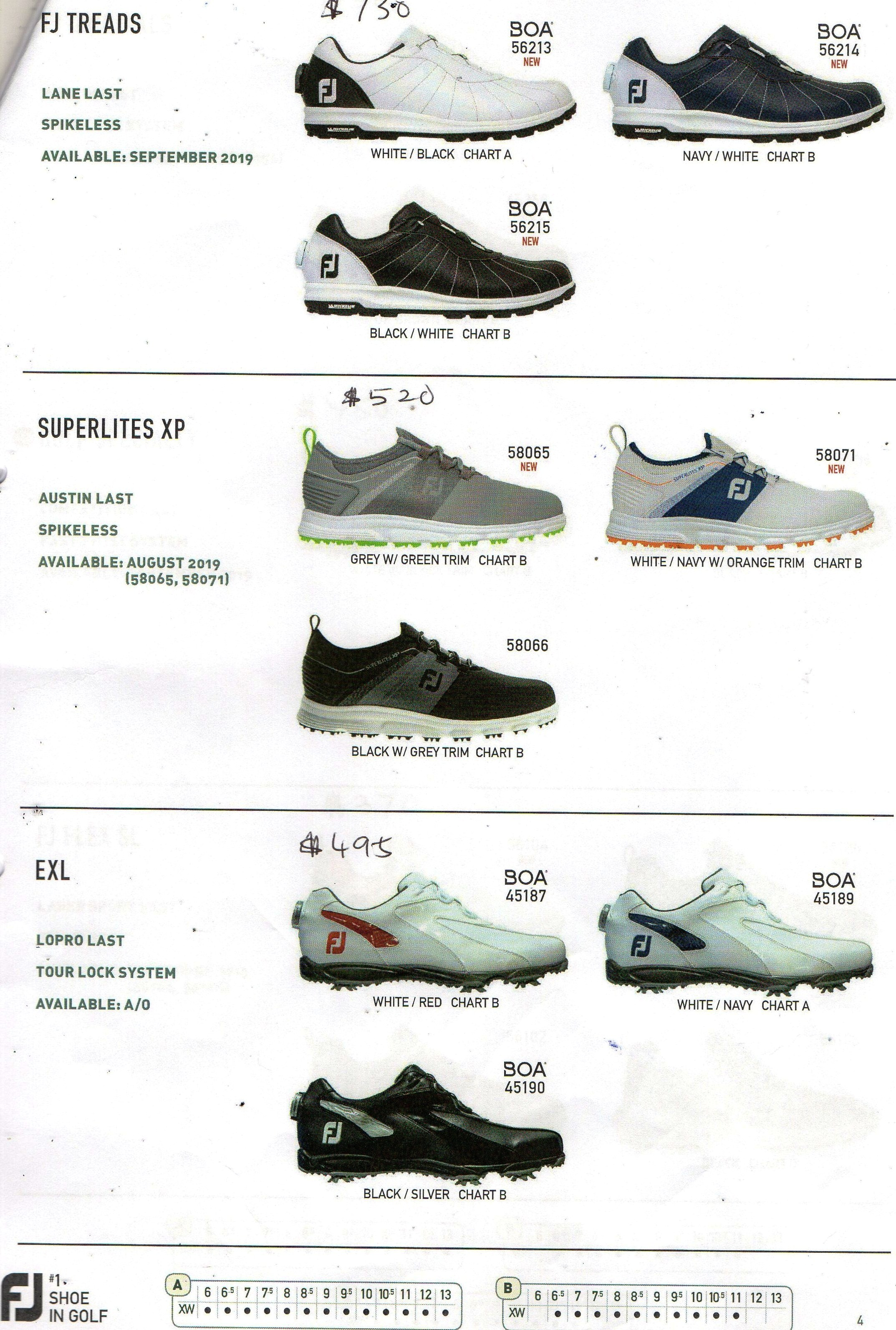 FJ Golf Shoes 2019 - 2020 Summer Release at VK Golf Online Store for